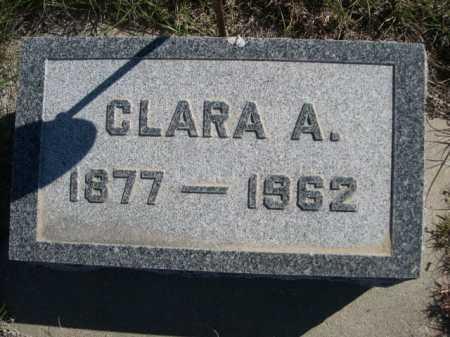 DODD, CLARA A. - Dawes County, Nebraska   CLARA A. DODD - Nebraska Gravestone Photos