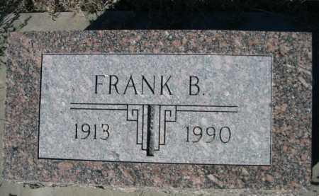 DODD, FRANK B. - Dawes County, Nebraska | FRANK B. DODD - Nebraska Gravestone Photos