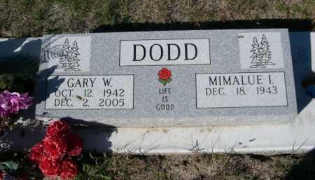 DODD, MIMALUE I. - Dawes County, Nebraska | MIMALUE I. DODD - Nebraska Gravestone Photos