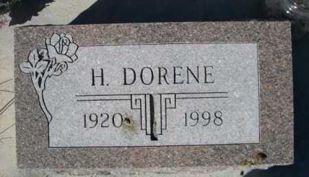 DODD, H. DORENE - Dawes County, Nebraska   H. DORENE DODD - Nebraska Gravestone Photos