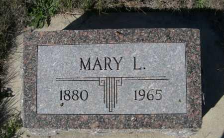 DODD, MARY L. - Dawes County, Nebraska | MARY L. DODD - Nebraska Gravestone Photos