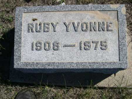 DODD, RUBY YVONNE - Dawes County, Nebraska   RUBY YVONNE DODD - Nebraska Gravestone Photos