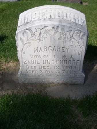 DODENDORF, MARGARET - Dawes County, Nebraska   MARGARET DODENDORF - Nebraska Gravestone Photos