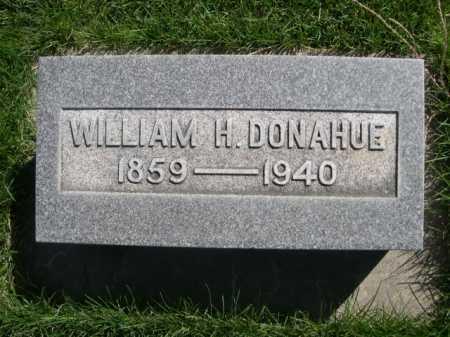 DONAHUE, WILLIAM H. - Dawes County, Nebraska | WILLIAM H. DONAHUE - Nebraska Gravestone Photos