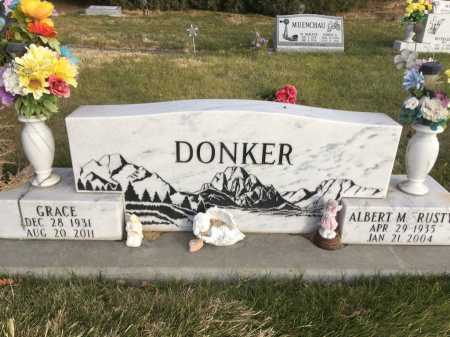 DONKER, GRACE - Dawes County, Nebraska | GRACE DONKER - Nebraska Gravestone Photos