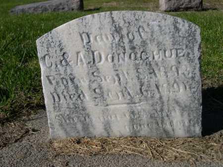 DONOGHUE, DAU. OF C & A. - Dawes County, Nebraska | DAU. OF C & A. DONOGHUE - Nebraska Gravestone Photos