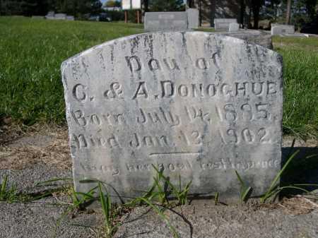DONOGHUE, DAU OF C & A. - Dawes County, Nebraska | DAU OF C & A. DONOGHUE - Nebraska Gravestone Photos
