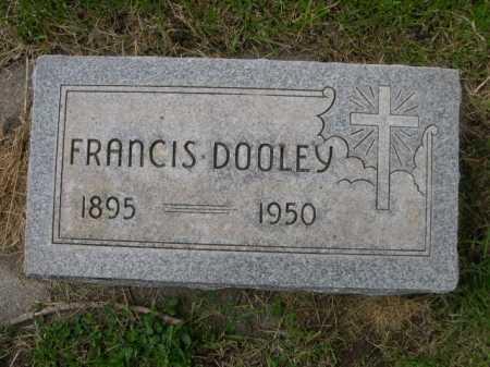 DOOLEY, FRANCIS - Dawes County, Nebraska | FRANCIS DOOLEY - Nebraska Gravestone Photos