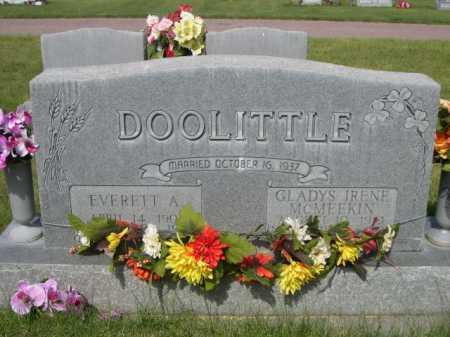 DOOLITTLE, EVERETT A. - Dawes County, Nebraska | EVERETT A. DOOLITTLE - Nebraska Gravestone Photos