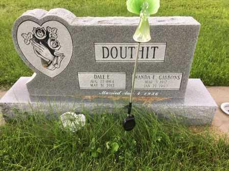 GIBBONS DOUTHIT, WANDA E. - Dawes County, Nebraska | WANDA E. GIBBONS DOUTHIT - Nebraska Gravestone Photos