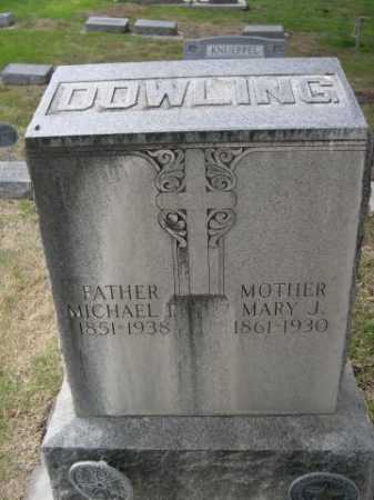 DOWLING, MICHAEL I - Dawes County, Nebraska | MICHAEL I DOWLING - Nebraska Gravestone Photos