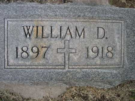 DOWLING, WILLIAM D. - Dawes County, Nebraska   WILLIAM D. DOWLING - Nebraska Gravestone Photos