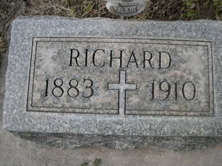 DOWLING, RICHARD - Dawes County, Nebraska | RICHARD DOWLING - Nebraska Gravestone Photos