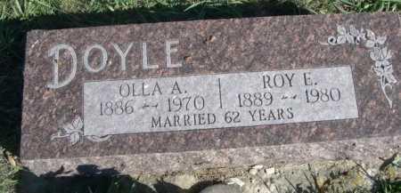 DOYLE, OLLA A. - Dawes County, Nebraska | OLLA A. DOYLE - Nebraska Gravestone Photos