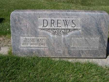 DREWS, JESSIE MAY - Dawes County, Nebraska | JESSIE MAY DREWS - Nebraska Gravestone Photos