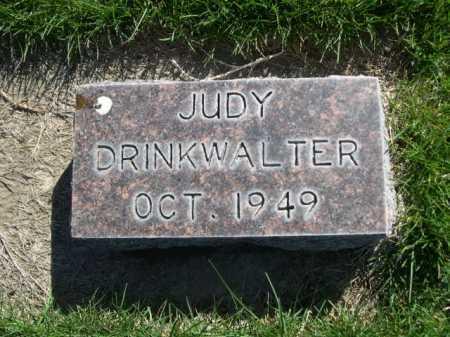 DRINKWALTER, JUDY - Dawes County, Nebraska | JUDY DRINKWALTER - Nebraska Gravestone Photos
