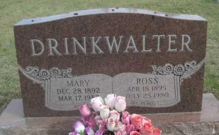 DRINKWALTER, ROSS - Dawes County, Nebraska | ROSS DRINKWALTER - Nebraska Gravestone Photos