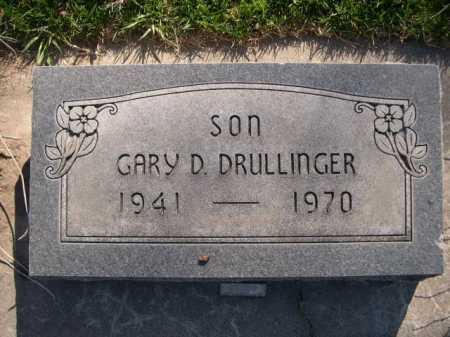 DRULLINGER, GARY D. - Dawes County, Nebraska | GARY D. DRULLINGER - Nebraska Gravestone Photos