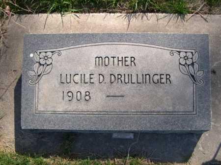 DRULLINGER, LUCILE D. - Dawes County, Nebraska | LUCILE D. DRULLINGER - Nebraska Gravestone Photos