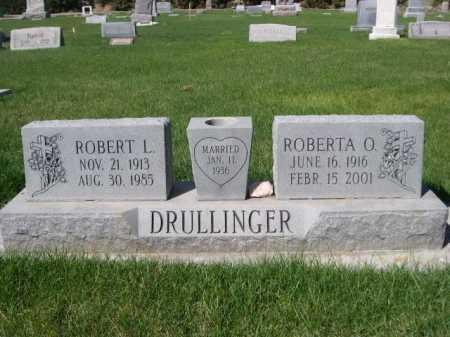 DRULLINGER, ROBERT L. - Dawes County, Nebraska | ROBERT L. DRULLINGER - Nebraska Gravestone Photos