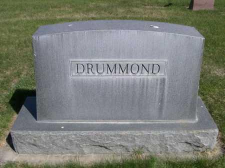 DRUMMOND, FAMILY - Dawes County, Nebraska | FAMILY DRUMMOND - Nebraska Gravestone Photos