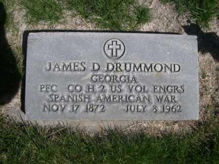 DRUMMOND, JAMES D. - Dawes County, Nebraska | JAMES D. DRUMMOND - Nebraska Gravestone Photos