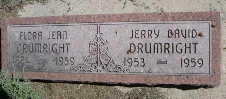 DRUMRIGHT, FLORA JEAN - Dawes County, Nebraska | FLORA JEAN DRUMRIGHT - Nebraska Gravestone Photos