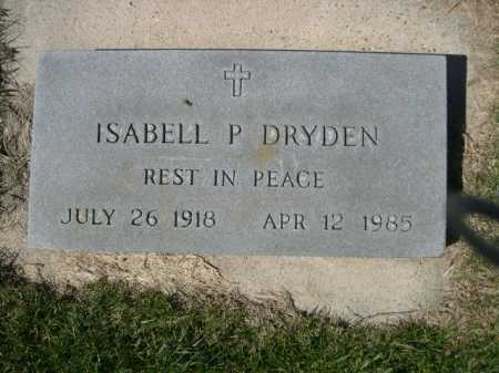 DRYDEN, ISABELL P. - Dawes County, Nebraska | ISABELL P. DRYDEN - Nebraska Gravestone Photos