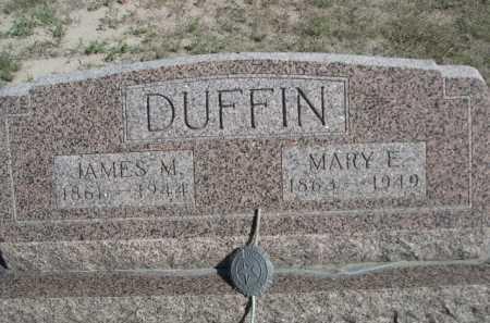 DUFFIN, JAMES M. - Dawes County, Nebraska   JAMES M. DUFFIN - Nebraska Gravestone Photos