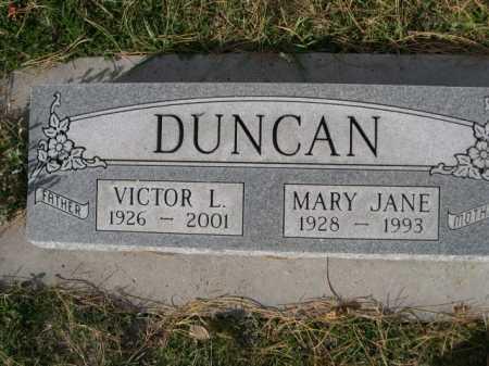 DUNCAN, VICTOR L. - Dawes County, Nebraska | VICTOR L. DUNCAN - Nebraska Gravestone Photos