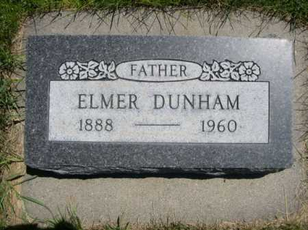 DUNHAM, ELMER - Dawes County, Nebraska | ELMER DUNHAM - Nebraska Gravestone Photos