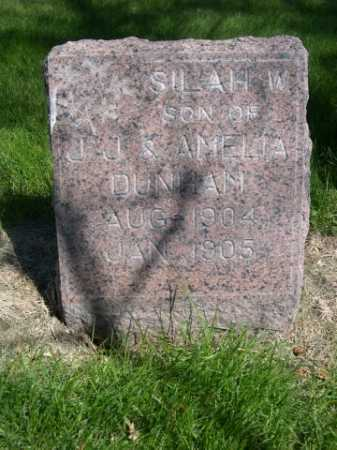 DUNHAM, SILAH W. - Dawes County, Nebraska   SILAH W. DUNHAM - Nebraska Gravestone Photos