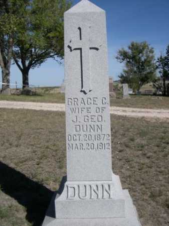DUNN, GRACE C. - Dawes County, Nebraska | GRACE C. DUNN - Nebraska Gravestone Photos