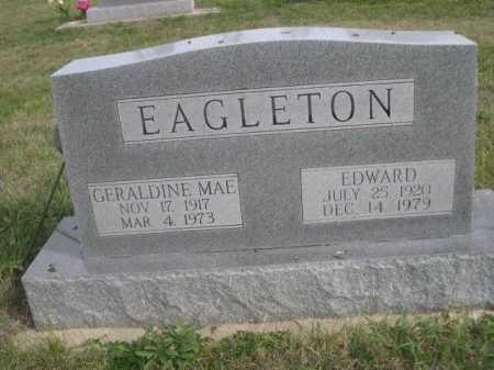 EAGLETON, GERALDINE MAE - Dawes County, Nebraska | GERALDINE MAE EAGLETON - Nebraska Gravestone Photos