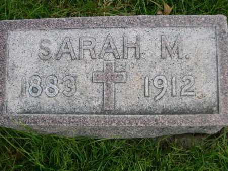 EARNEST, SARAH M - Dawes County, Nebraska | SARAH M EARNEST - Nebraska Gravestone Photos