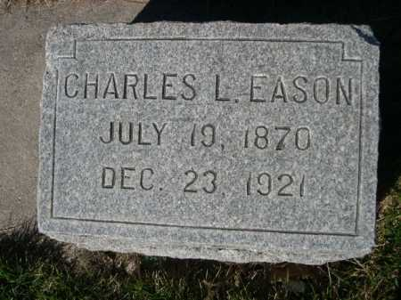 EASON, CHARLES L. - Dawes County, Nebraska   CHARLES L. EASON - Nebraska Gravestone Photos