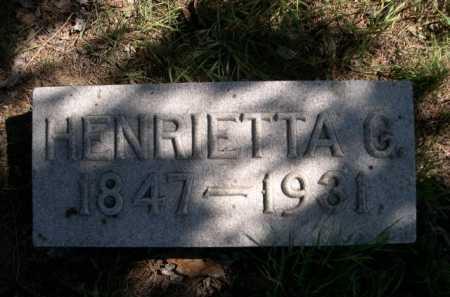 EASTMAN, HENRIETTA G. - Dawes County, Nebraska | HENRIETTA G. EASTMAN - Nebraska Gravestone Photos