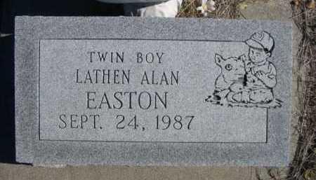 EASTON, LATHEN ALAN - Dawes County, Nebraska | LATHEN ALAN EASTON - Nebraska Gravestone Photos