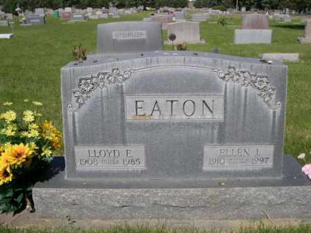 EATON, ELLEN I. - Dawes County, Nebraska   ELLEN I. EATON - Nebraska Gravestone Photos
