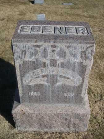 EBENER, FREDERICK - Dawes County, Nebraska | FREDERICK EBENER - Nebraska Gravestone Photos