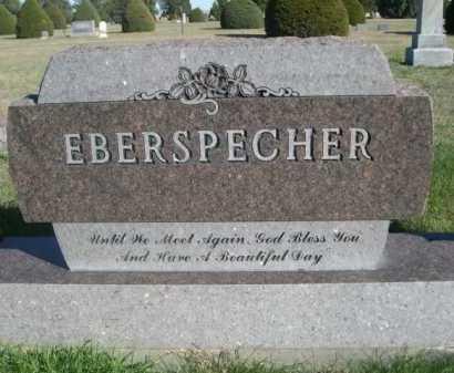 EBERSPECHER, FAMILY - Dawes County, Nebraska   FAMILY EBERSPECHER - Nebraska Gravestone Photos