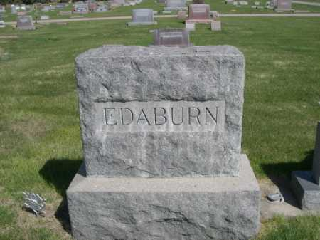 EDABURN, FAMILY - Dawes County, Nebraska   FAMILY EDABURN - Nebraska Gravestone Photos