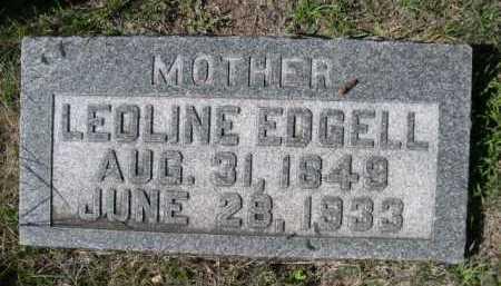 EDGELL, LEOLINE - Dawes County, Nebraska | LEOLINE EDGELL - Nebraska Gravestone Photos
