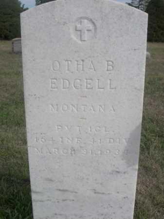 EDGELL, OTHA B. - Dawes County, Nebraska   OTHA B. EDGELL - Nebraska Gravestone Photos