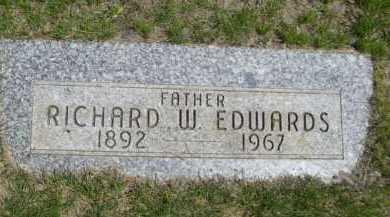 EDWARDS, RICHARD W. - Dawes County, Nebraska | RICHARD W. EDWARDS - Nebraska Gravestone Photos