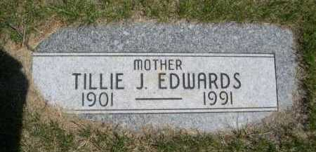 EDWARDS, TILLIE J. - Dawes County, Nebraska | TILLIE J. EDWARDS - Nebraska Gravestone Photos