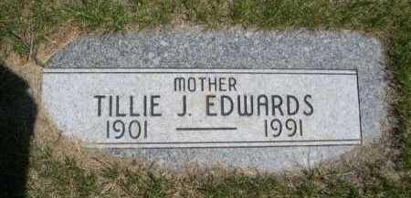 EDWARDS, TILLIE J. - Dawes County, Nebraska   TILLIE J. EDWARDS - Nebraska Gravestone Photos