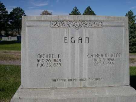 EGAN, CATHERINE KENT - Dawes County, Nebraska | CATHERINE KENT EGAN - Nebraska Gravestone Photos