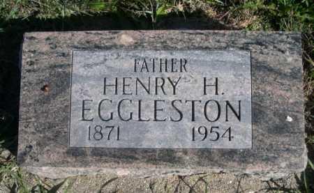 EGGLESTON, HENRY H. - Dawes County, Nebraska | HENRY H. EGGLESTON - Nebraska Gravestone Photos