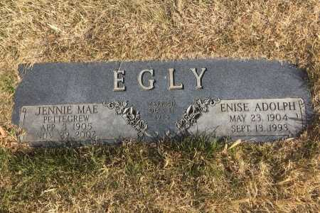 EGLY, ENISE ADOLPH - Dawes County, Nebraska | ENISE ADOLPH EGLY - Nebraska Gravestone Photos